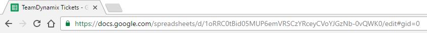 Google Sheet ID